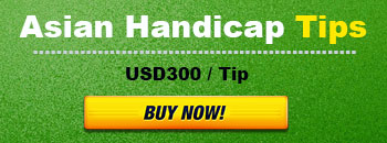 Buy Asian handicap tips for $300 per tips